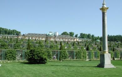 Sanssouci, zámek na vinohradu