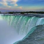 Niagarské vodopády, USA/Kanada.
