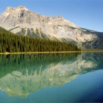 Emerald Lake Yoho, Kanada.