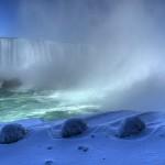Niagarské vodopády, Kanada.