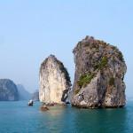 13. Halong Bay, Vietnam.