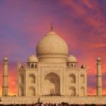 16. Tádž Mahal, Indie.