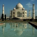 17. Tádž Mahal, Indie.