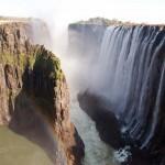 18. Viktoriiny vodopády, Zimbabwe.