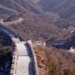 9. Velká Čínská zeď, Čína.