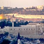1. Jeruzalém, Izrael.