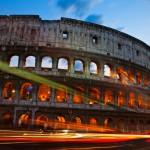 3. Koloseum, Řím, Itálie.