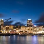 4. Wellington, Nový Zéland.