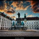 11. Hofburg, Vídeň, Rakousko.