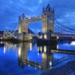 12. Tower Bridge, Londýn, Velká Británie.