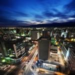 7. Toyama, Japonsko.