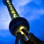4. TV věž, Šanghaj, Čína.