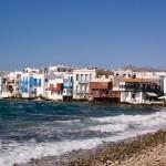1. Mykonos, Řecko.