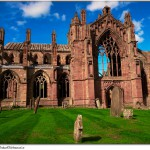 10. Melrose Abbey, Skotsko.